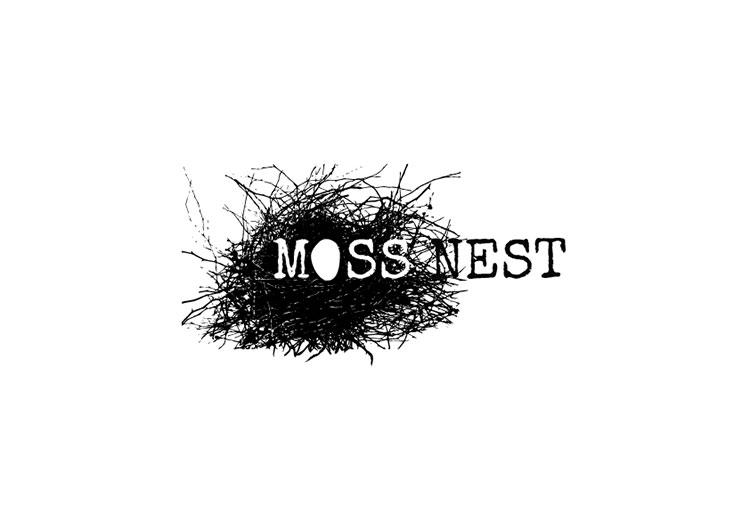 Moss Nest Berry Logo Design
