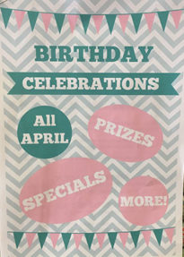 Berry Quilt and Co. Birthday April 2017