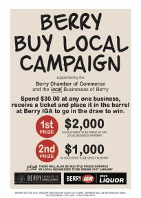 Berry Buy Local Competition | Terms and Conditions