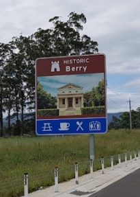 Berry Historic Signage